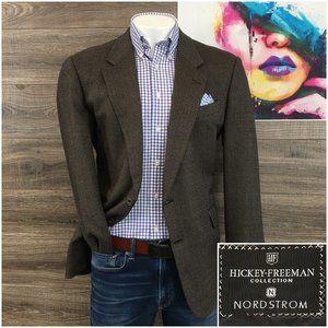 Hickey Freeman Sport Coat Blazer Canterbury Wool